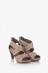 Дамски сандали на ток Тейли