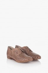 Ежедневни дамски перфорирани обувки Канди