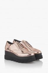 Дамски ежедневни обувки в злато Лисса