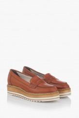 Дамски обувки от естествена кожа Бамби