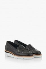 Черни дамски ежедневни обувки Колет