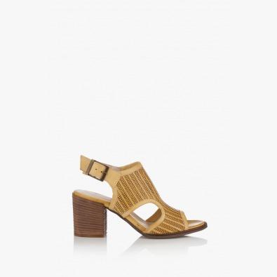 Дамски сандали в жълто Ейприл