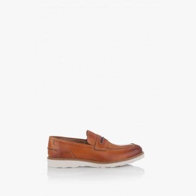 Мъжки обувки от естестена кожа Рон