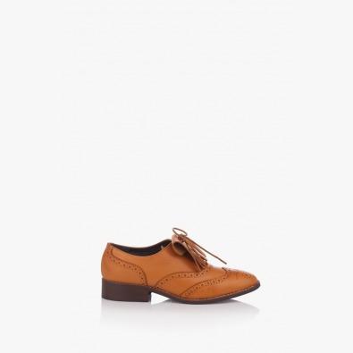Дамски ежедневни кожени обувки Шарън