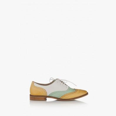 Дамски кожени летни обувки Кони