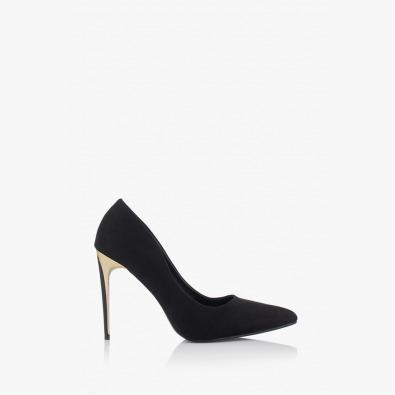 Черни дамски класически обувки Наоми
