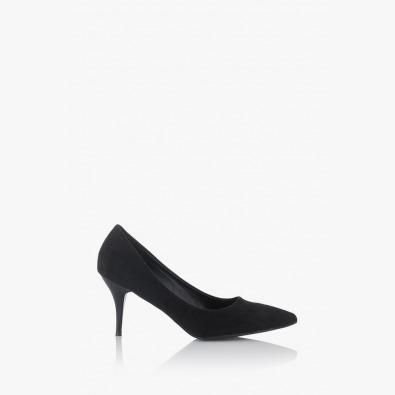 Черни дамски елегантни обувки Наоми