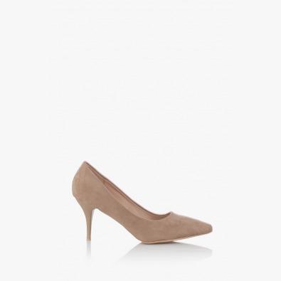 Дамски елегантни обувки Наоми таупе
