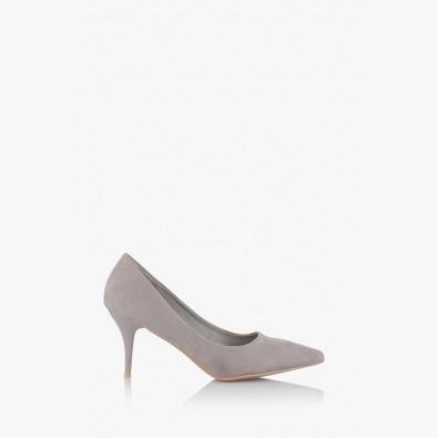 Дамски класически обувки в сиво Наоми