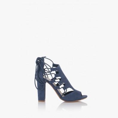 Сини дамски сандали Кики