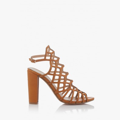 Дамски сандали Клое карамел