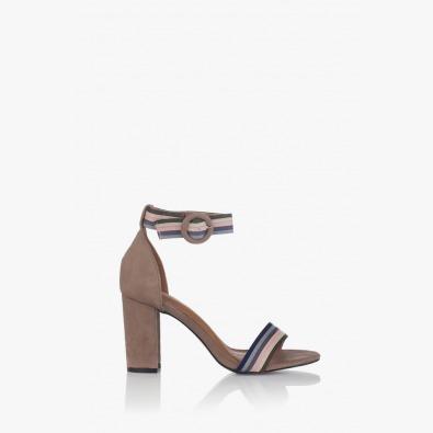 Дамски сандали с каишка на глезена Габи