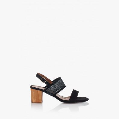 Дамски сандали на среден ток Хелен