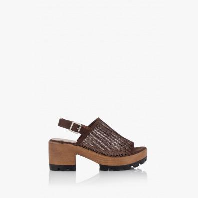 Дамски сандали с мрежа Ирене