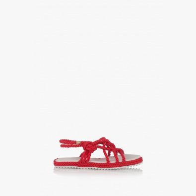 Дамски сандали Флора в червено