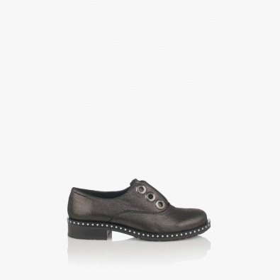 Дамски обувки Карин в тъмно сиво