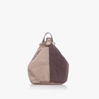 Дамска чанта-раница Даян в кафяво