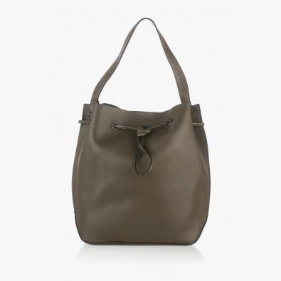 Зелена дамска чанта Аврил