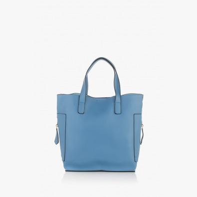 Дамска чанта в син цвят Нанси