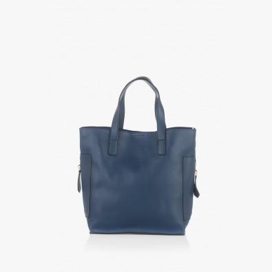 Тъмно синя дамска чанта Нанси