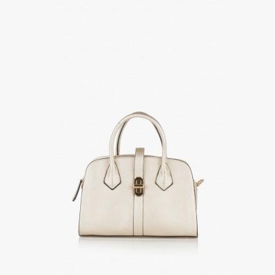 Елегантна дамска чанта в златис цвят Джослин