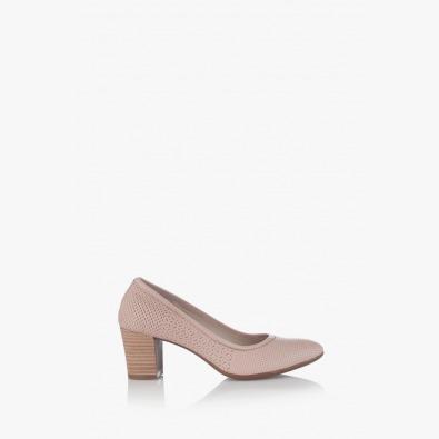 Класически дамски обувки Одри цвят пудра