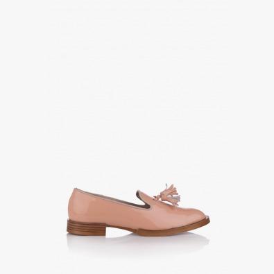 Дамски обувки цвят пудра Карла
