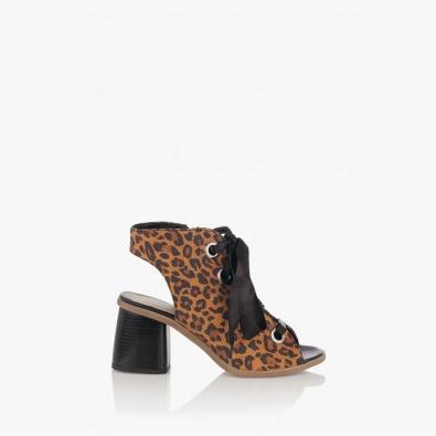 Дамски сандали с ток Рейн