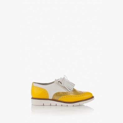 Ежедневени дамски обувки в жълто Адисан