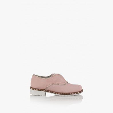 Велурени дамски обувки Анастаси