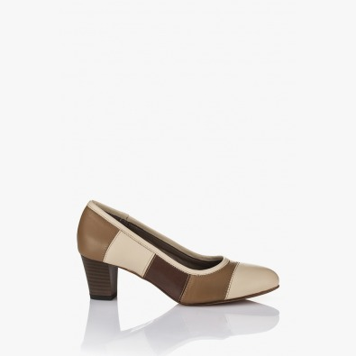 Кожена дамска обувка Пеги