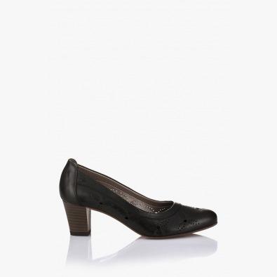 Черни дамски обувки Райли