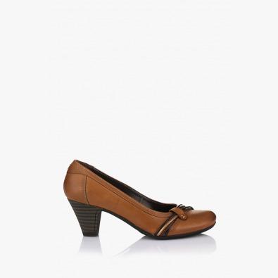 Кафява дамска обувка Наталия