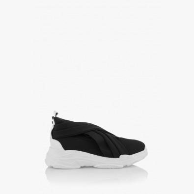 Неопренови черни дамски спортни обувки Черил