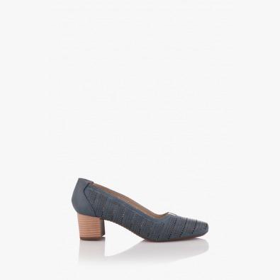 Сини дамски летни обувки Бенедета