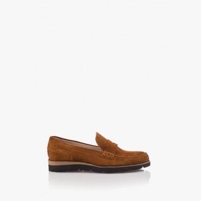 Велурени мъжки обувки Ензо
