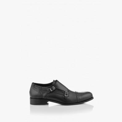 Черни мъжки класически обувки Патерсън
