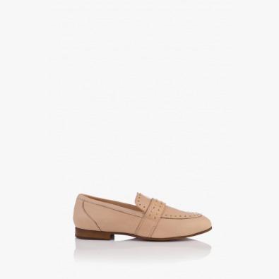 Бежови дамски ежедневни обувки Алдина