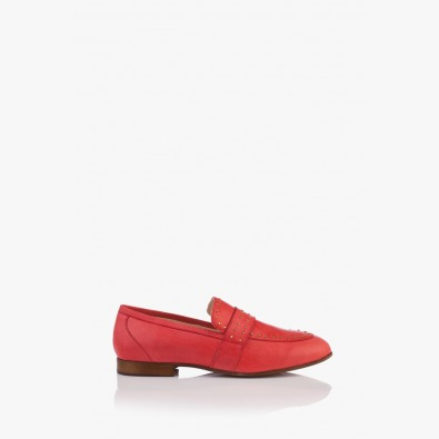 Кожени дамски ежедневени обувки Алдина