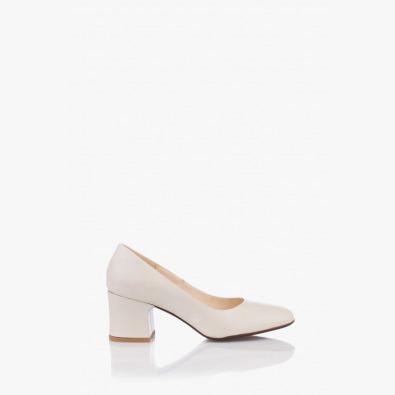 Елегантни дамски кожени обувки Леонора