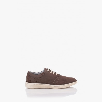 Мъжки ежедневни велурени обувки Франко