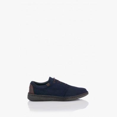 Тъмно сини мъжки обувки Филипо