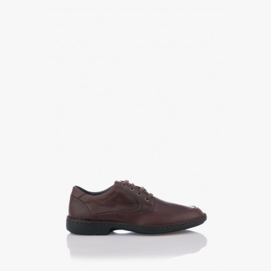 Кожени мъжки обувки с връзи Масимо