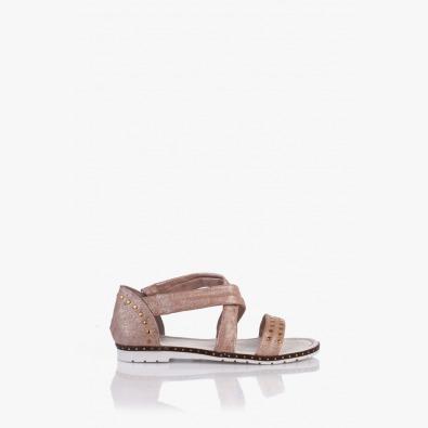 Кожени дамски сандали Флор