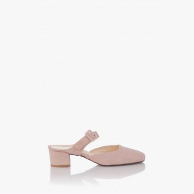 Велурени дамски сандали Лучиана