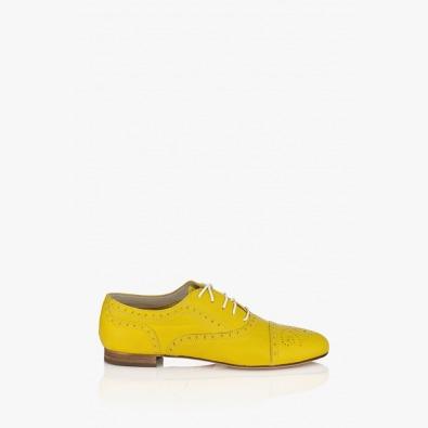 Жълти дамски обувки Джулиана