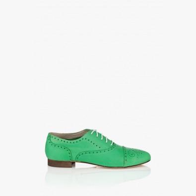 Зелени дамски обувки Джулиана