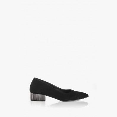Черни елегантни дамски обувки Бевърли