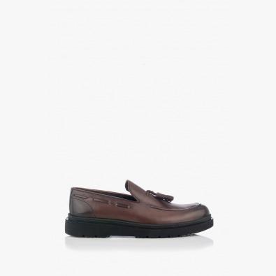 Мъжки обувки в кафяв цвят Феликс