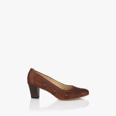 Дамски кожени обувки Райли